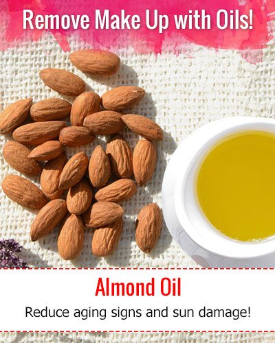 How To Remove Make Up With Almond Oil?