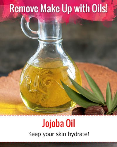 How To Remove Make Up With Jojoba Oil?
