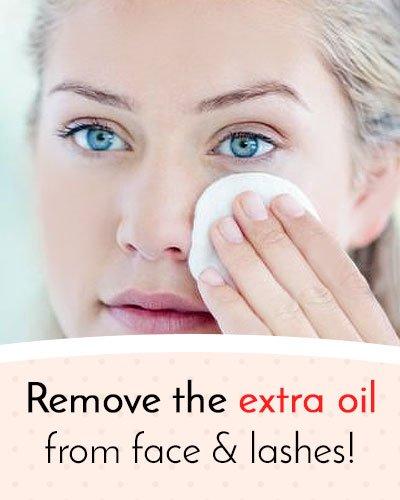 Keep Eyelashes Oil Free