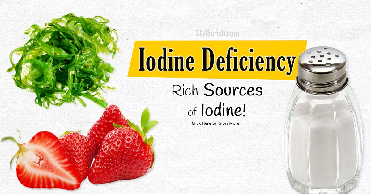 Vegetables Containing Iodine Iodine deficiency lets see the signs you are suffering from it workwithnaturefo