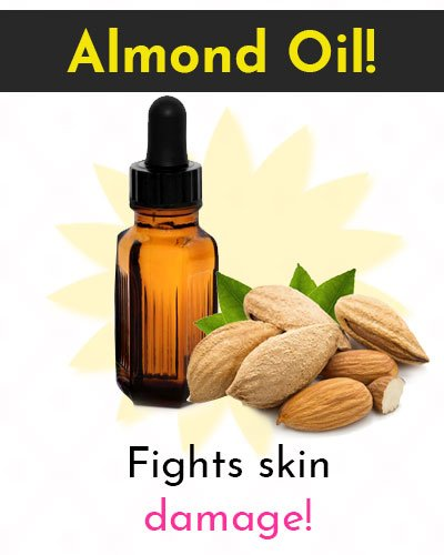 Almond Oil Natural Skin Moisturizer