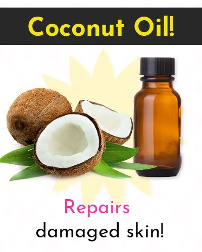 Coconut Oil Natural Skin Moisturizer