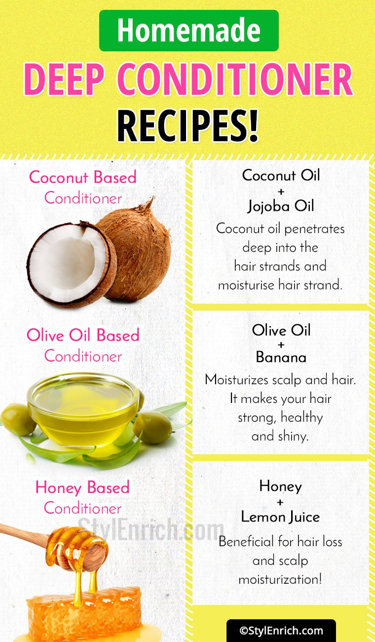 DIY Homemade Deep Conditioner Recipes