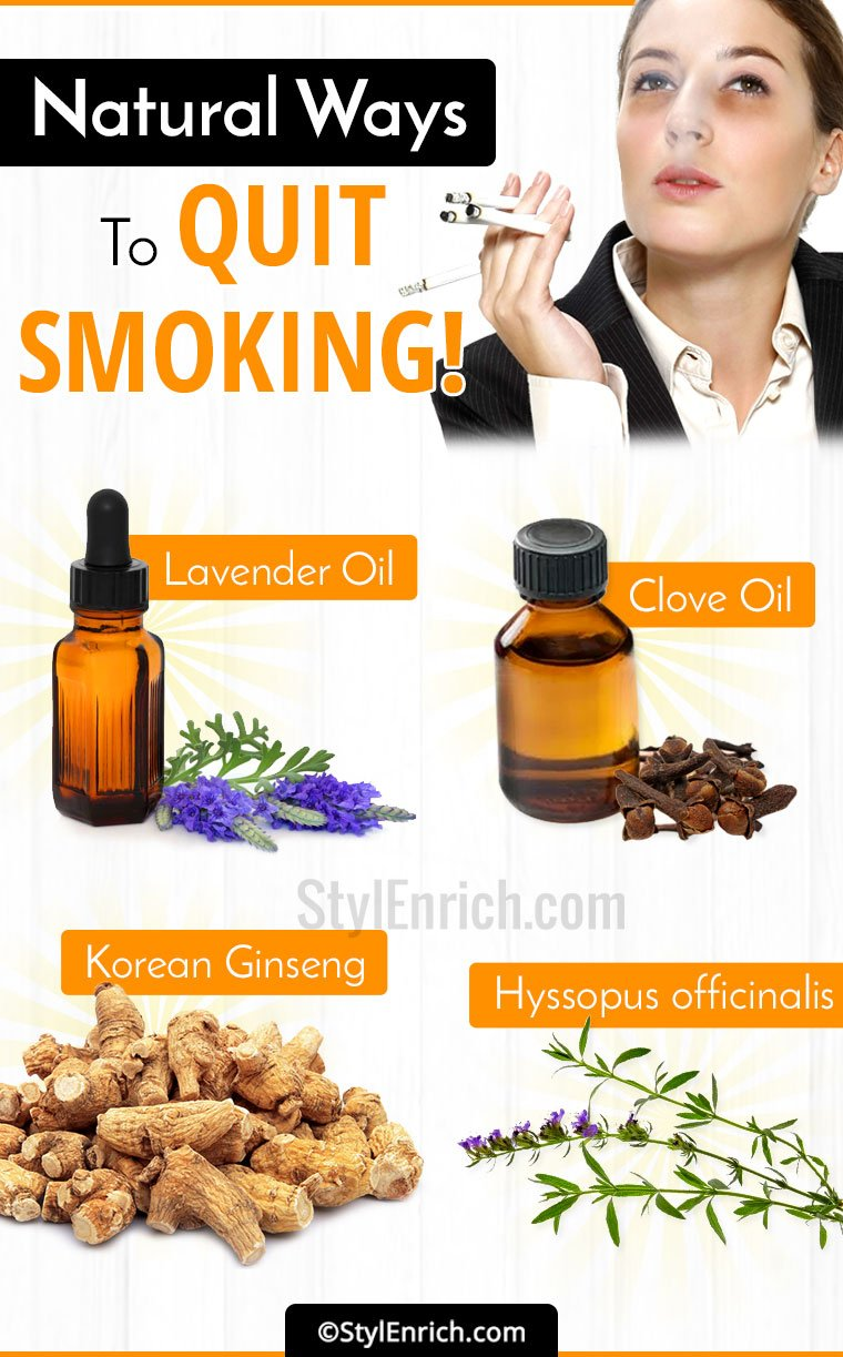 Natural Ways To Quit Smoking!