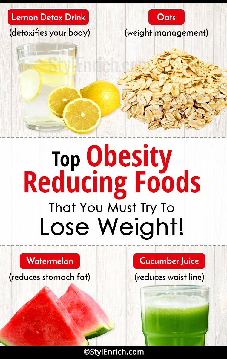 Obesity Reducing Food