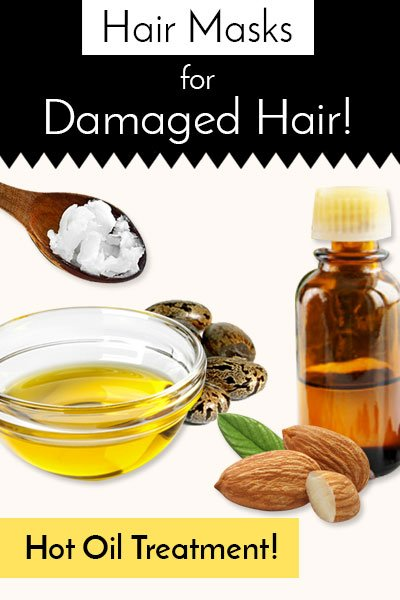 Oil Treatment (Hot) For Your Dry And Damaged Hair