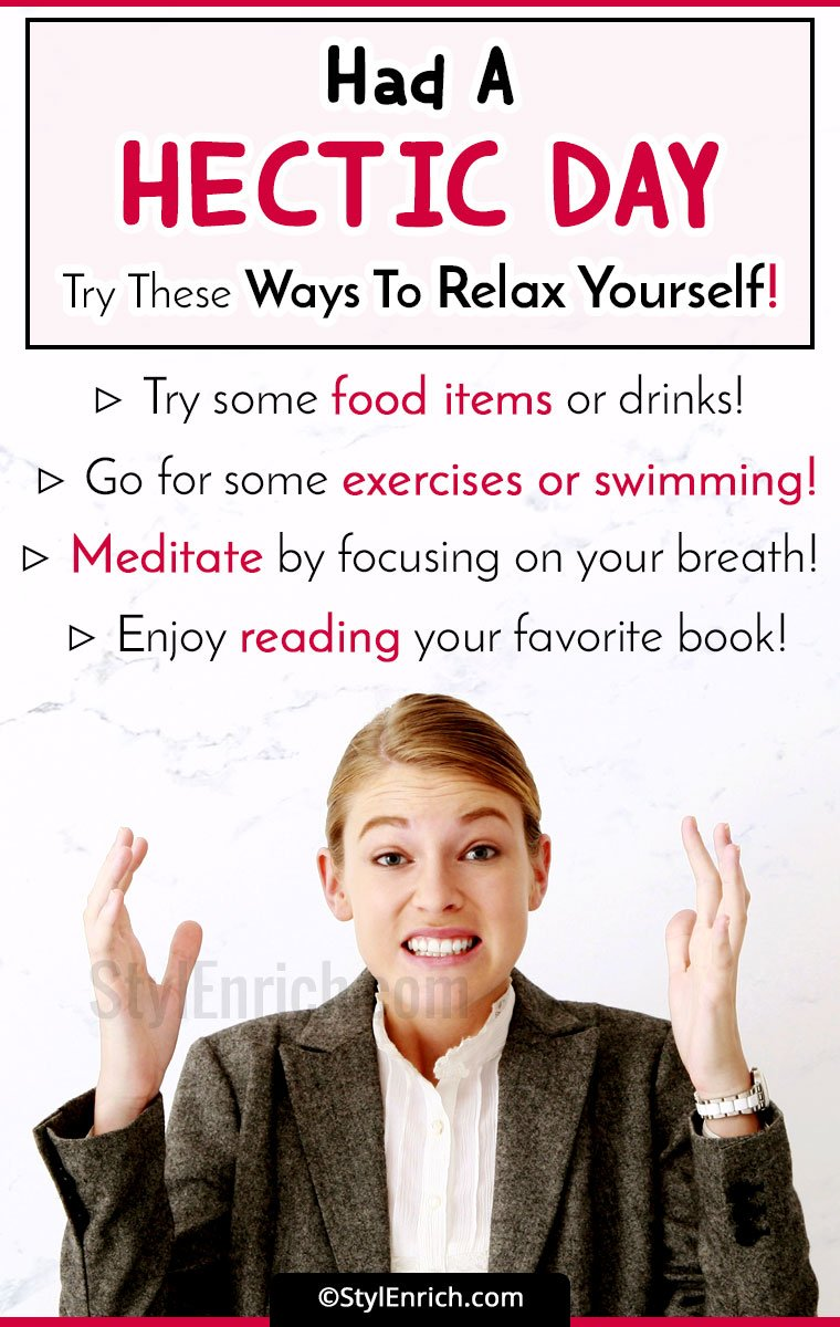 Best Ways To Relax Yourself