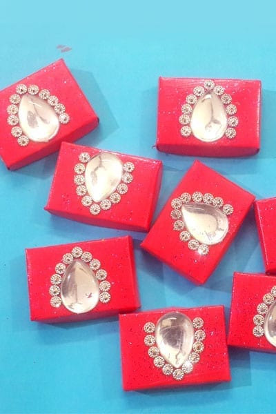 DIY Wall Décor Using Match Boxes