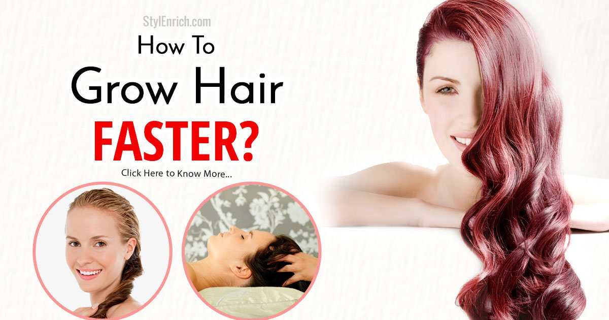 how to grow hair faster reddit