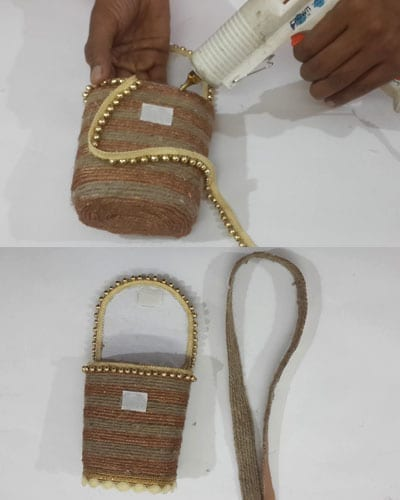 Handmade Jute Bag DIY