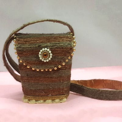 Jute Bag DIY Craft