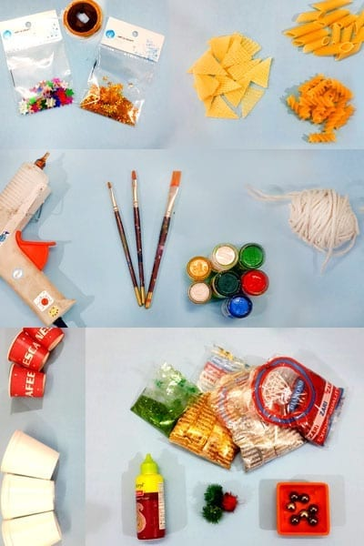 Things You Need For Paper Cup Christmas Décor