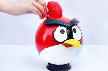 Funky Angry Bird Piggy Bank!