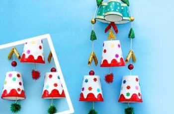 Easy Paper Cup Christmas Décor