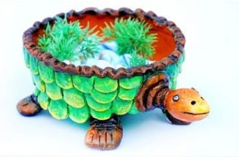 DIY Lucky Turtle