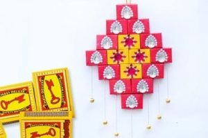 DIY Matchbox Wall Hanging