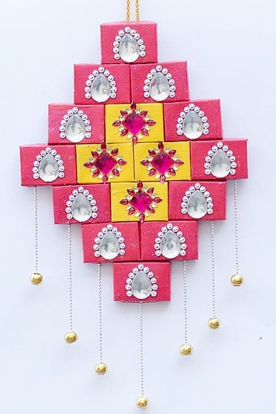 Wall Décor With Match Boxes
