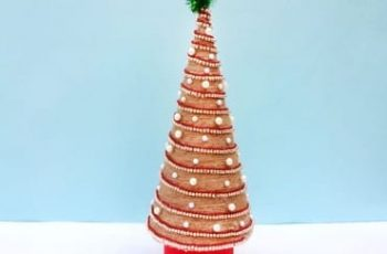 DIY Tabletop Christmas Tree!