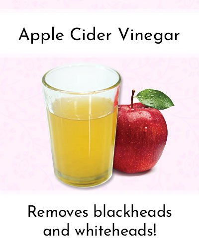 Apple Cider Vinegar To Shrink Pores