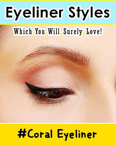 Coral Eyeliner