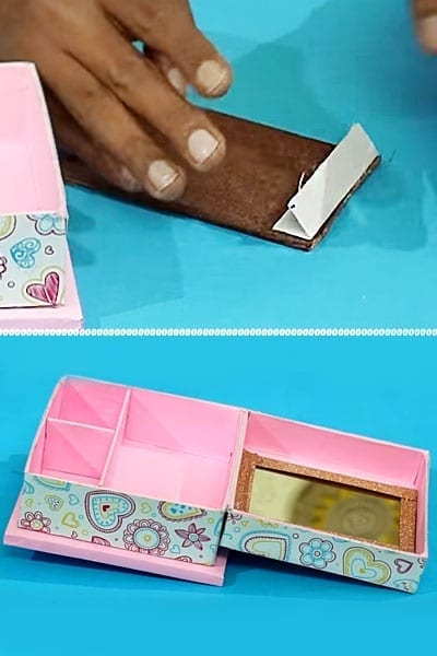 DIY Jewellery Box Best Out Of Waste Craft