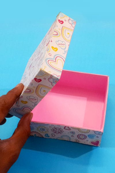 DIY Jewellery Box Recycled Craft