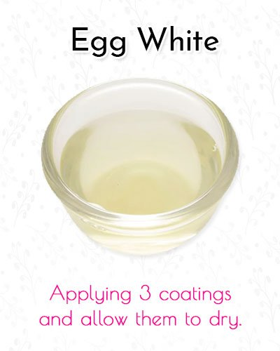 Egg White Blackhead Mask