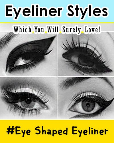 Eye Shape Eyeliner Styles