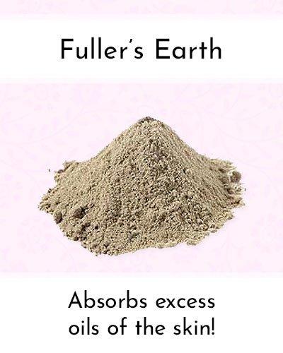 Fuller's Earth To Shrink Pores