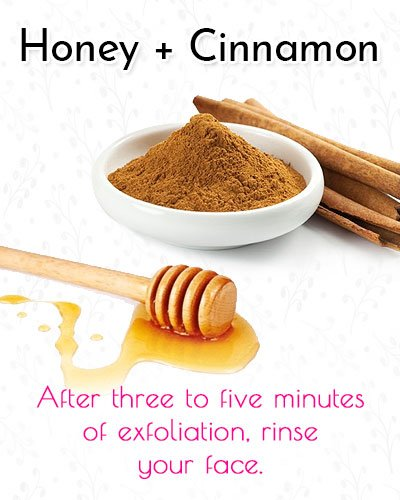 Honey and Cinnamon Blackhead Mask