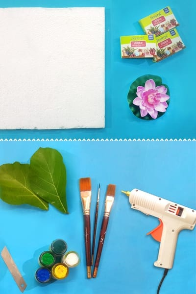 Things You Need To Make A DIY Lotus Craft