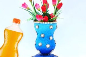 Easy Best Out Of Waste Craft Flower Vase
