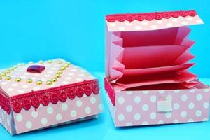 Easy DIY Paper Gift Box