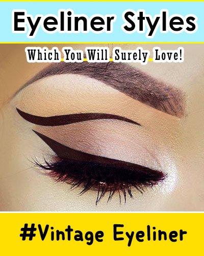 Vintage Eyeliner Style