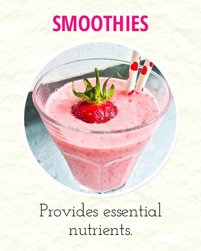 Go for Smoothies To Ease Menstrual Cramps