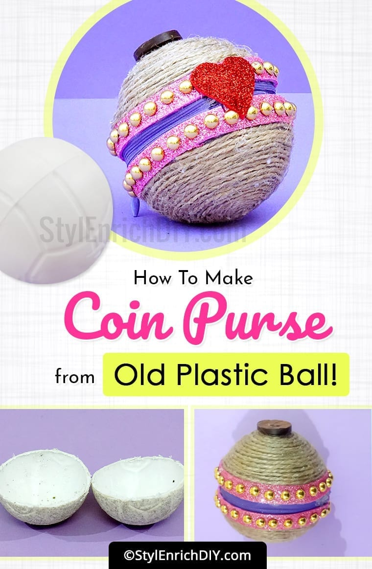 Best Out Of Waste From Old Plastic Ball