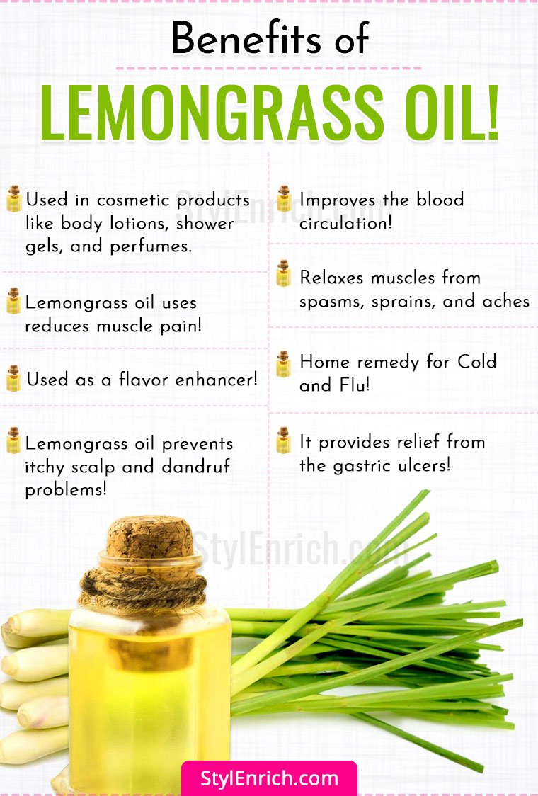 Lemongrass Oil Benefits Uses For Skin And Hair Dosage And Side Effects
