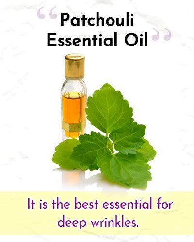 Patchouli Essential Oil For Wrinkles