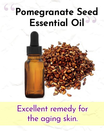 Pomegranate Seed Essential Oil For Wrinkles