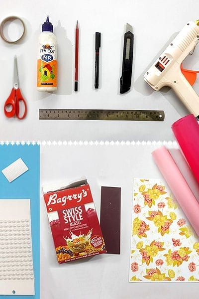 Things You Need For DIY Cereal Box Craft
