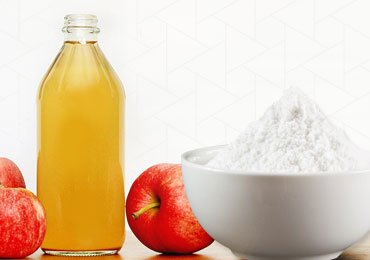 Apple Cider Vinegar and Baking Soda