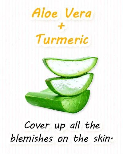 Turmeric and Aloe Vera Face Masks