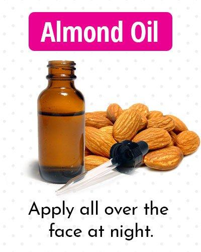 Almond Oil for Dark Spots