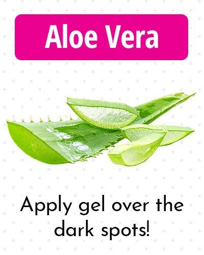 Aloe Vera Gel for Dark Spots