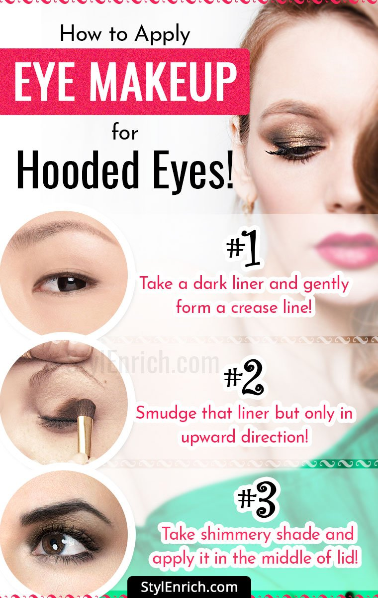Eye Makeup for Hooded Eyes!