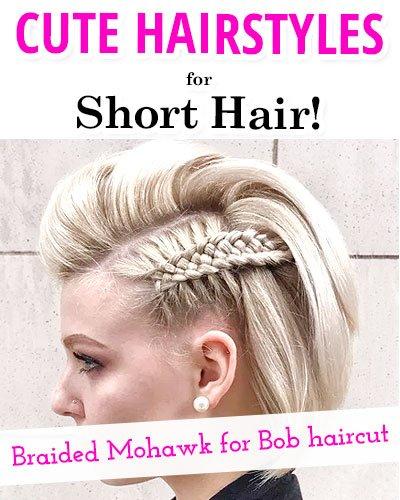 Braided Mohawk For Bob Haircut