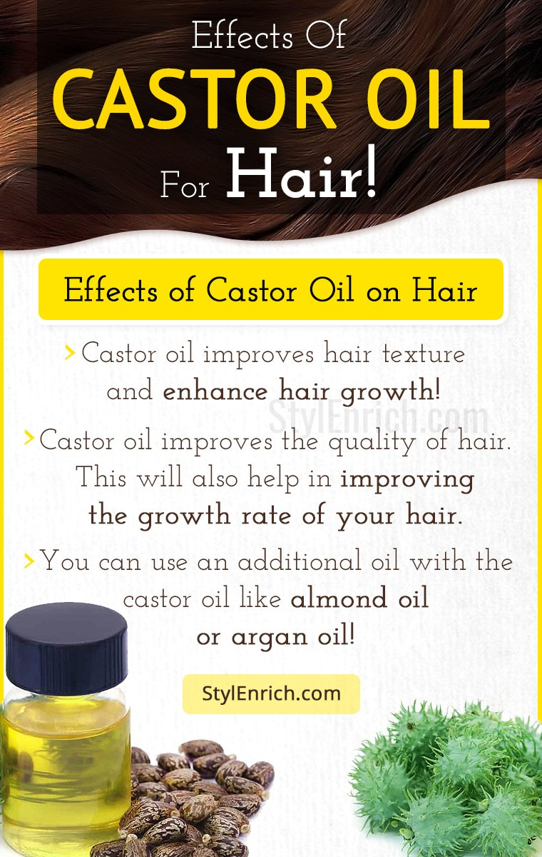 Effects Of Castor Oil For Hair