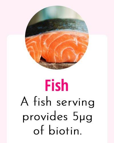 Fish - Biotin Rich Food