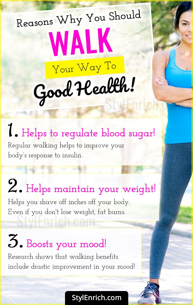 Health Benefits Of Walking