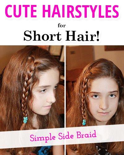 Simple Side Braid